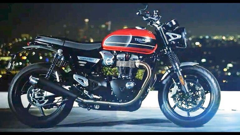 Triumph Bonneville Speed ​​Twin 2019