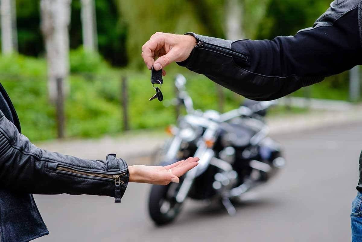 compra e venda de moto