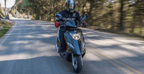 seguro burgman 125i da Suzuki